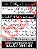 Civil Engineering Staff for Retail Outlet