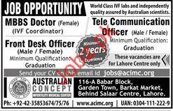 MBBS Doctor Jobs in Australian Concept