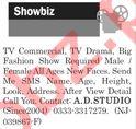 Jang Sunday Classified Ads 2018 for Showbiz