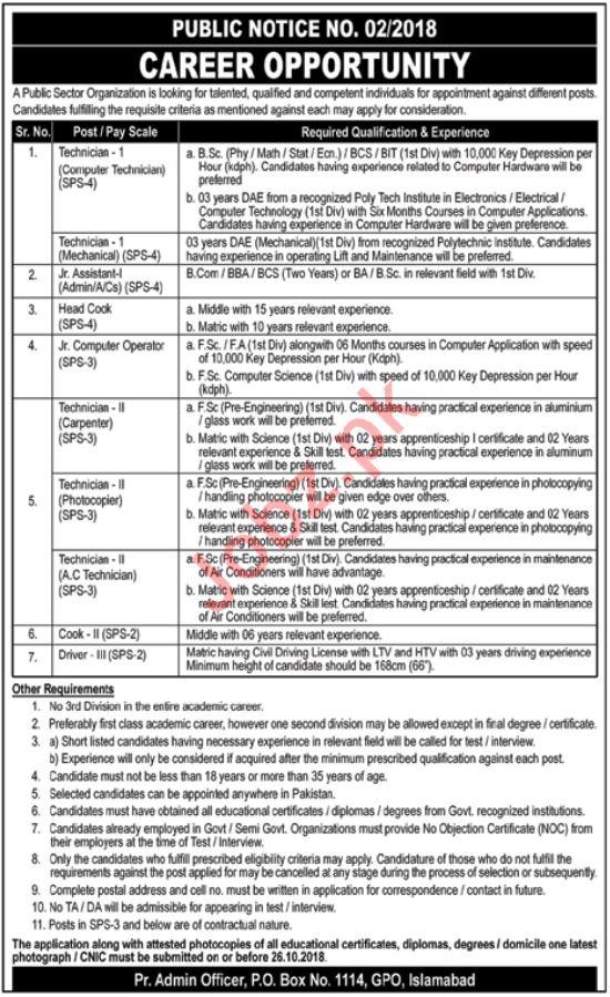 Pakistan Atomic Energy Commission PAEC Jobs In Islamabad