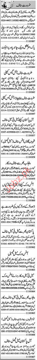 Computer Operator Jobs 2018 in Lahore