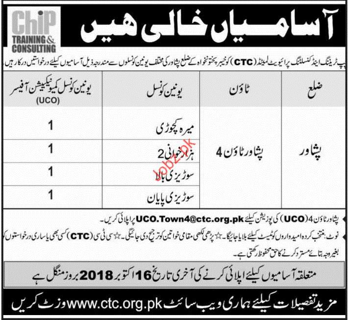 Chip Training & Consulting Union Council Communication Jobs