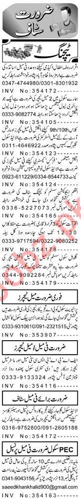 Teacher Jobs Career Opportunity in Peshawar