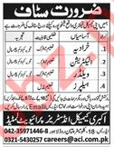 Akbari Chemical Industries Lahore Jobs for Electricians 2019 Job