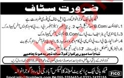 Fico Hi Tech Gujranwala Jobs for Accountant & Store Incharge