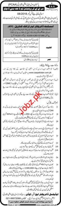 Pakistan Civil Aviation Authority Assistant Director Jobs