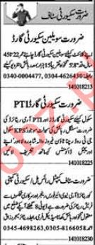 Security Guards Jobs Open in Lahore 2018