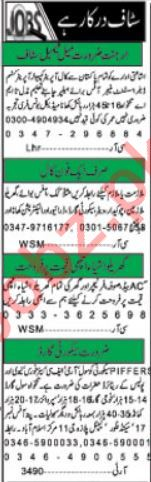 Khabrain Newspaper Classified Jobs 2018 For Islamabad