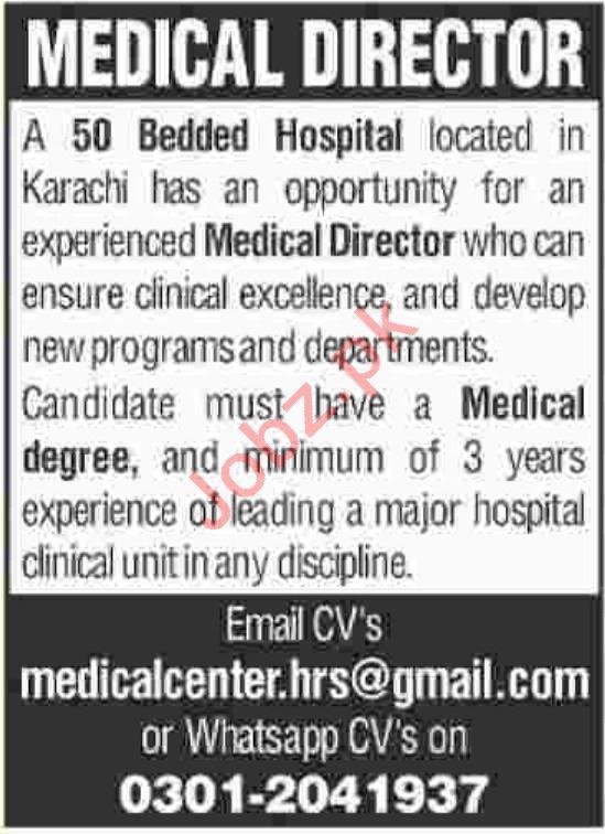 Medical Doctor for Hospital