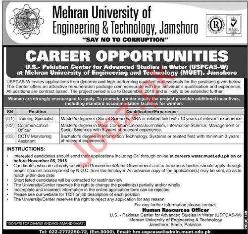 MUET Training Specialist Job Opportunities
