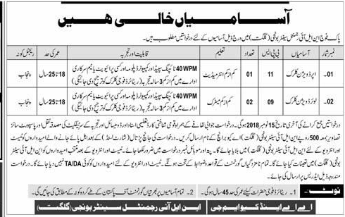 Upper Division Clerks UDC and Lower Division Clerk LDC Jobs