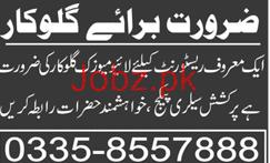 Singers Job in A Famous Restaurant 2019 Job Advertisement Pakistan