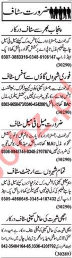 Daily Nawa-e-waqt Newspaper Classified Ads 2018 In Lahore
