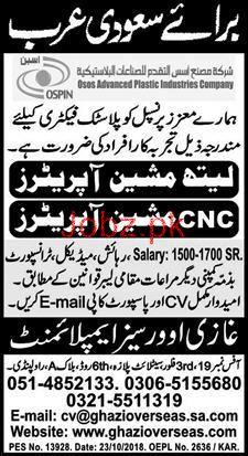 Lathe Machine Operators Cnc Machine Operators Wanted 2019 Job