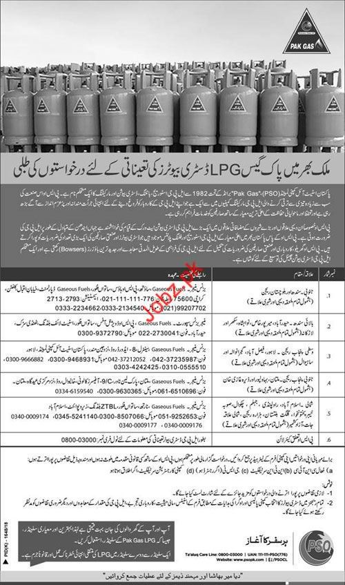 Business Manager Jobs in Pakistan State Oil PSO