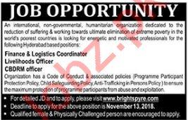 CBDRM Officer, Finance & Logistics Coordinator Jobs 2018
