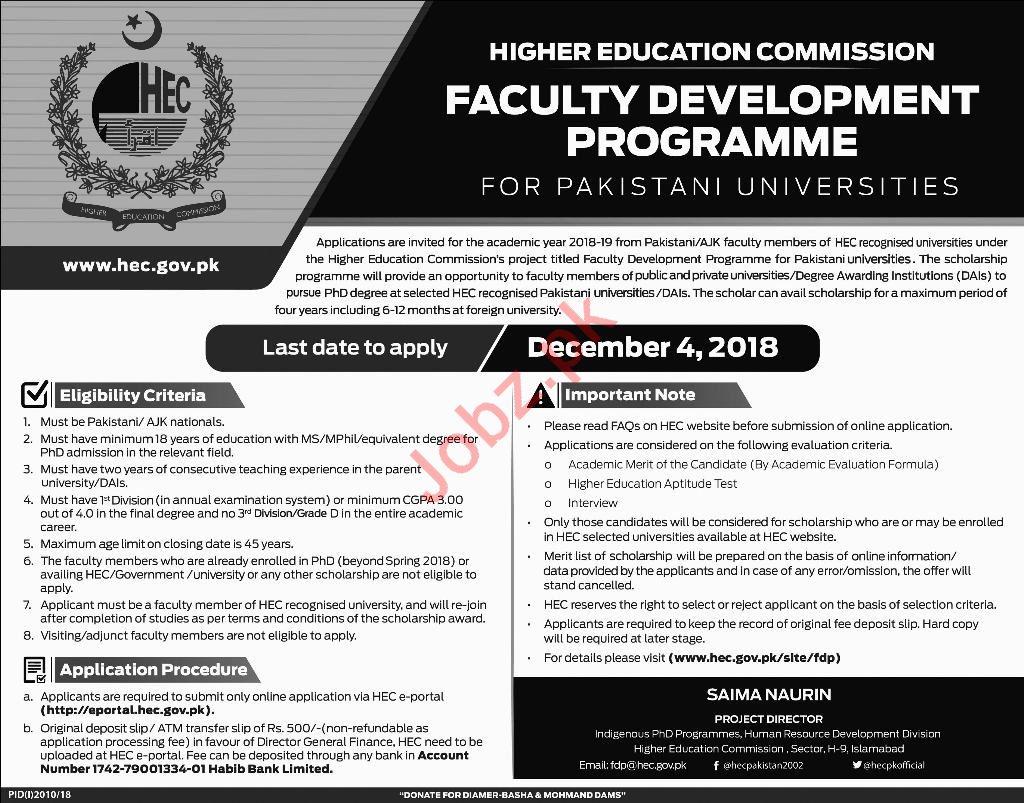 HEC Faculty Development Programme