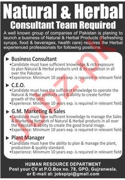 Business Consultant for Medical Company