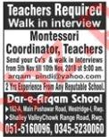 Dar e Arqam School Rawalpindi Jobs 2018 for Teachers
