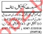 Nawaiwaqt Sunday Classified Ads 2018 for Technical Staff