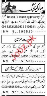 Marketing Staff Jobs 2018 in Peshawar