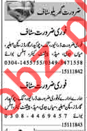 Domestic Staff Jobs 2018 in Lahore