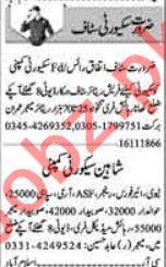 Dunya Newspaper Security Classified Jobs 2018 in Lahore