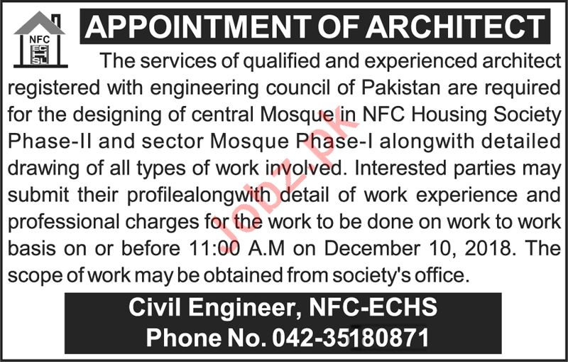 Architect for Housing Society