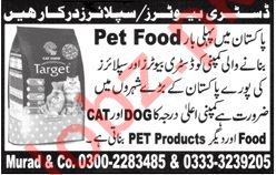 Distributors for Pet Food Company