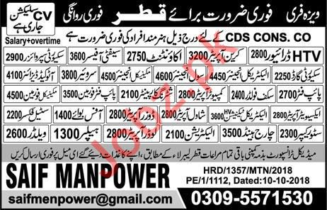 HTV Driver, Accountant, Crane Operator & Safety Officer Jobs