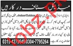 Medical Jobs 2018 For Rawalpindi, Islamabad & Sargodha City