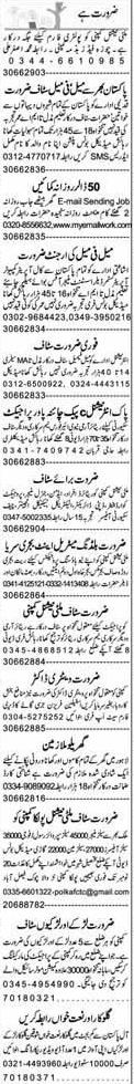 Data Entry Operator, Computer Operator Job Opportunity
