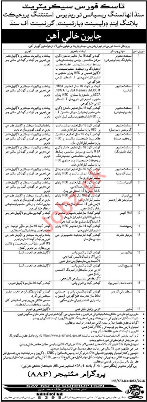 Planning and Development Department Assistant Manager Jobs