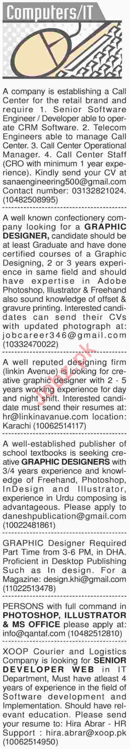 Dawn Sunday Computer / IT Classified Ads 25/11/2018