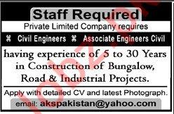Civil Engineers & Associate Engineers Civil Jobs 2018