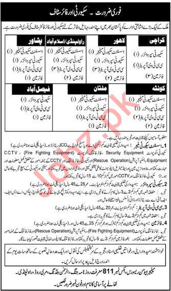Security Staff Jobs in Publishing Department