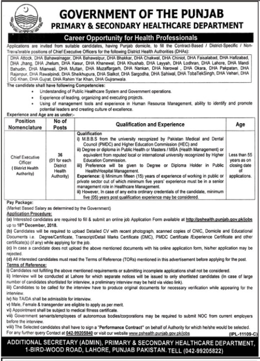 assistant manager jobs public sector organization 2019 job