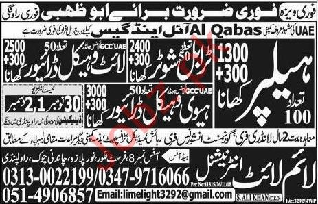 Al Qabas Oil & Gas Company Jobs 2018 in Abu Dhabi UAE 2019