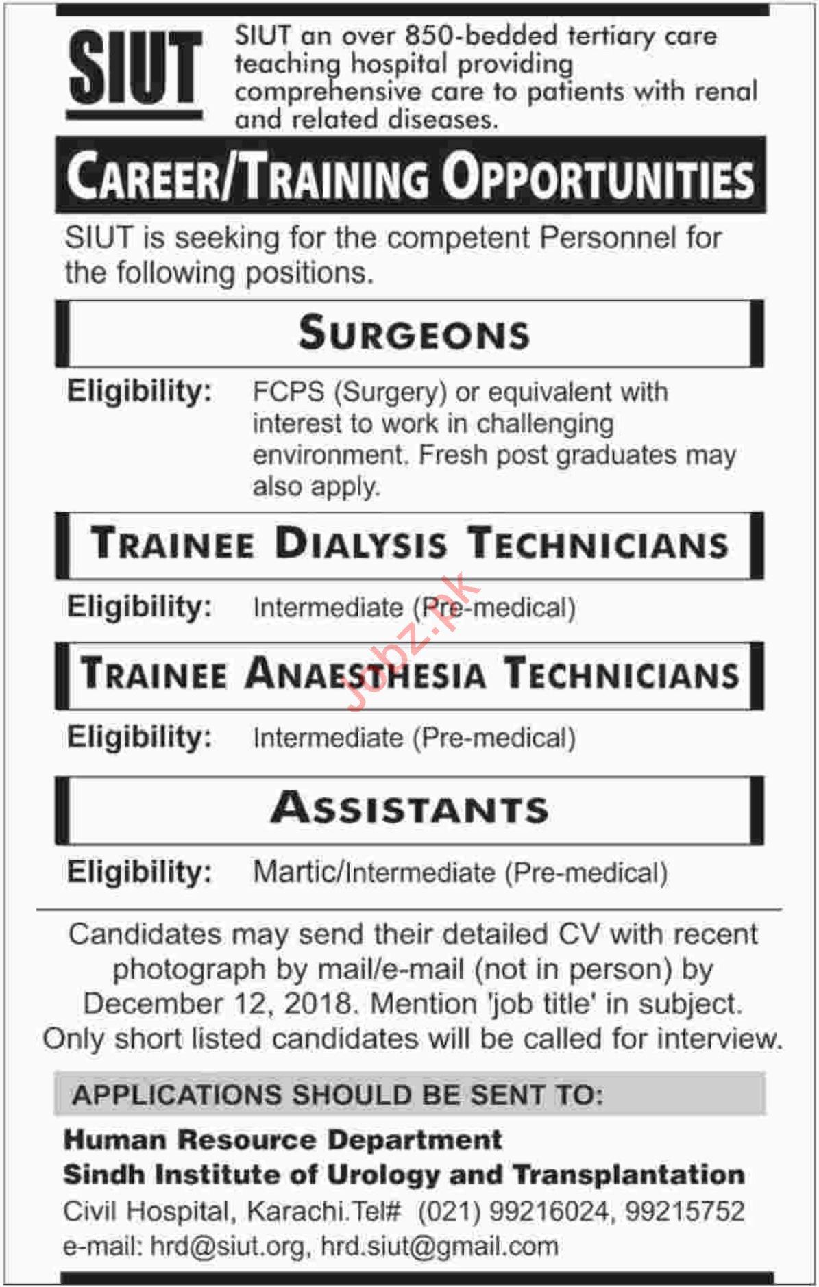 Teaching Jobs In Karachi For Intermediate Students