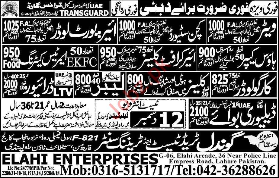 Transguard Group Jobs 2019 in Dubai UAE