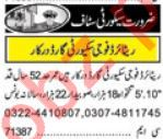 Security Guards Jobs 2018 For Lahore