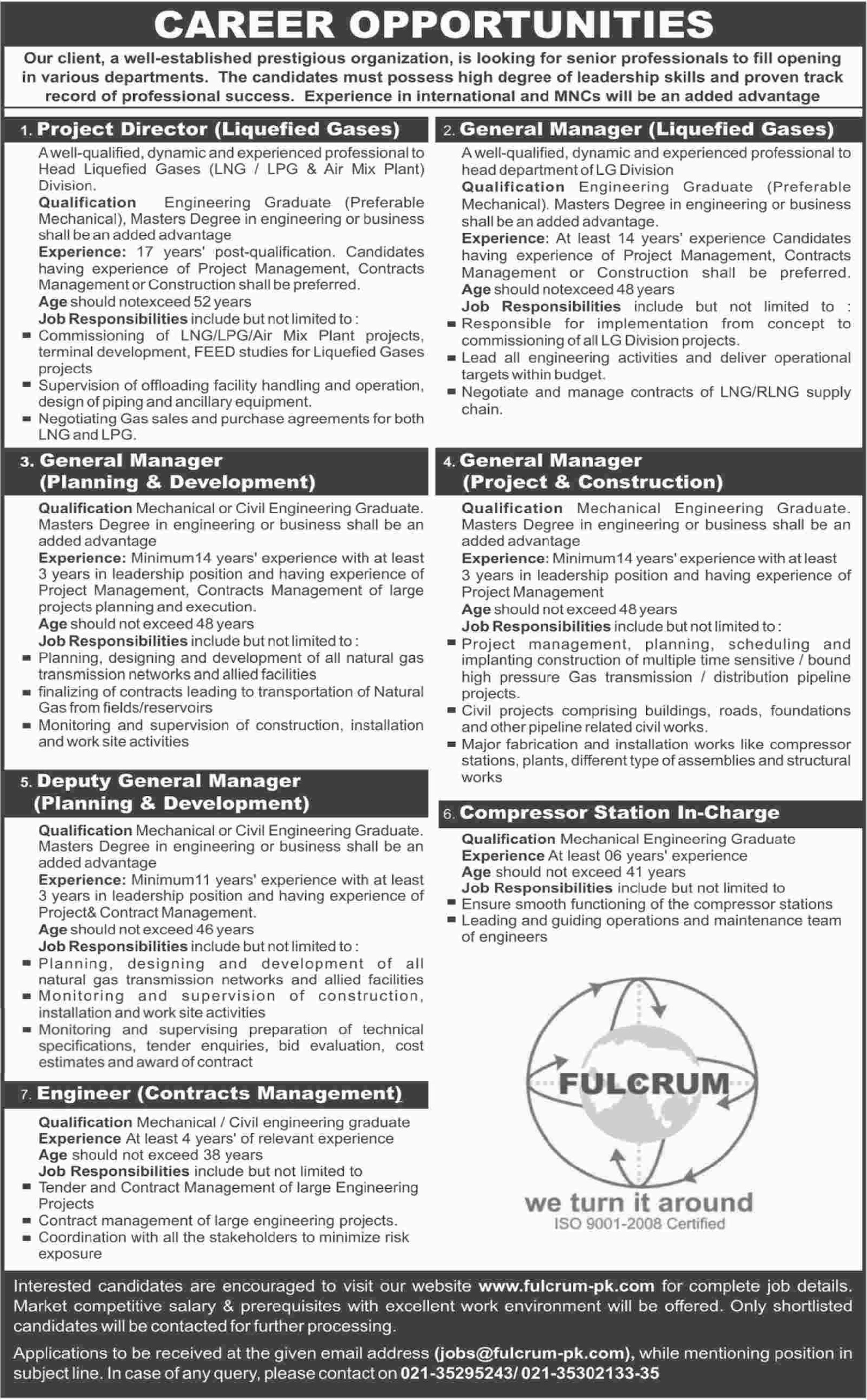 Project Director jobs in Fulcrum