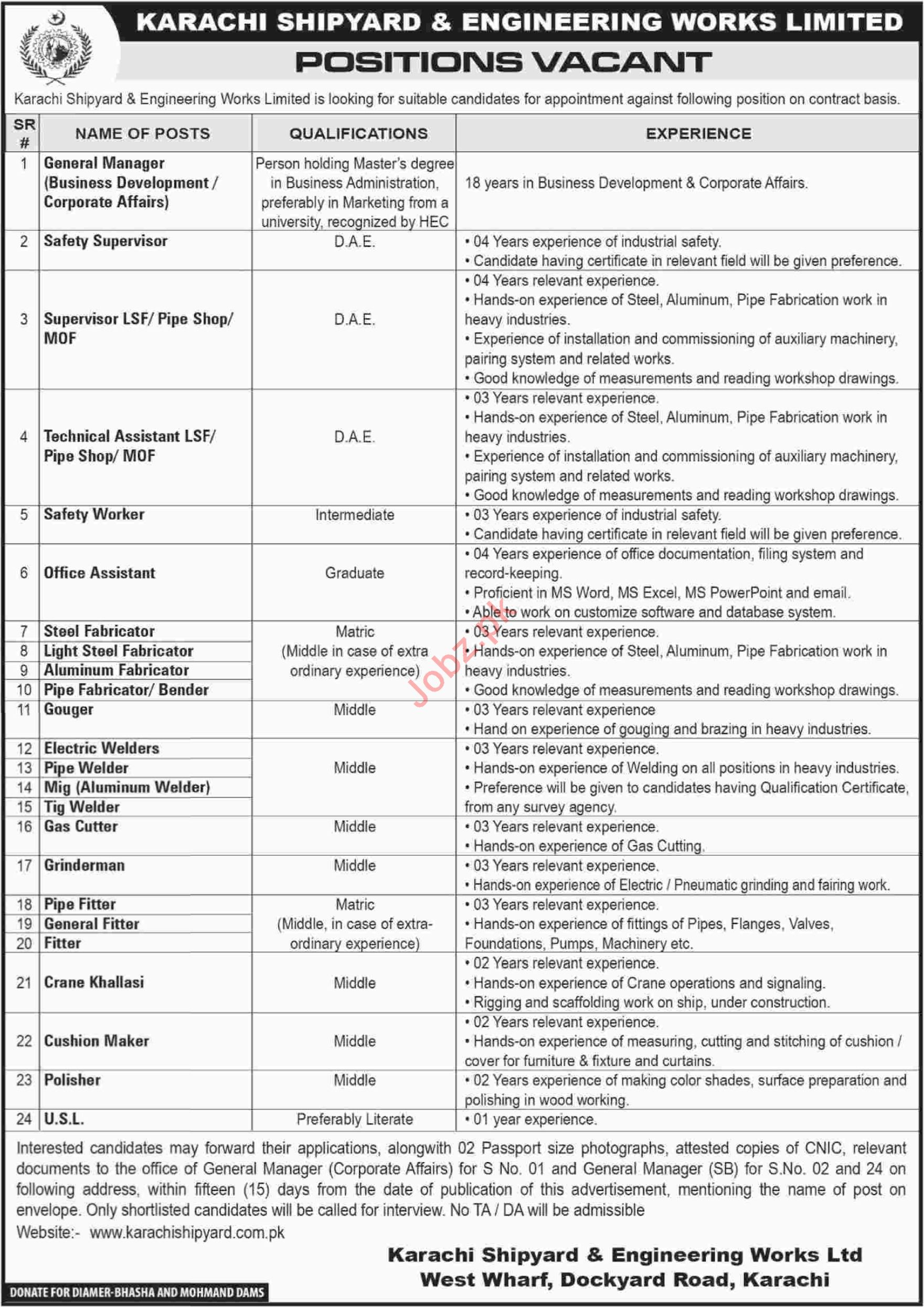 General Manager Business Development Jobs at KSEW
