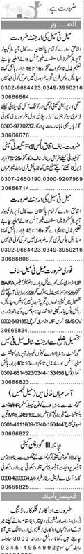 Computer Operator Manager, Office Boys Job Opportunity