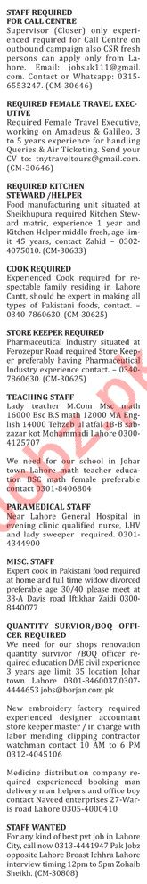 The Nation Newspaper Miscellaneous Jobs 2019 For Lahore