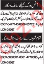 Daily Nawaiwaqt Newspaper Classified Jobs 2018 For Multan