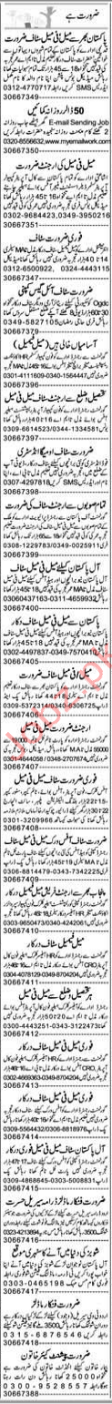 Express Miscellaneous Staff Jobs 2019 in Lahore