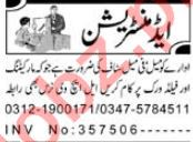Administration Jobs 2019 in Peshawar KPK
