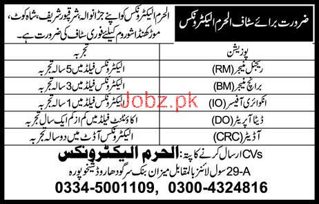 Regional Manager, Branch Manager Job in Al Haram Electronics