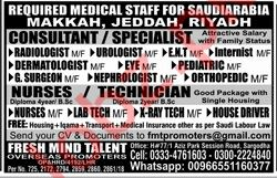 Fresh Mind Talent Overseas Promoters Consultant Jobs